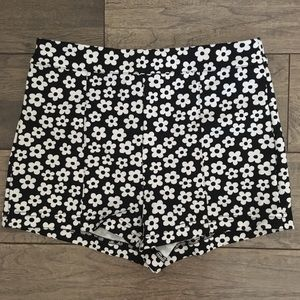 Floral F21 Shorts